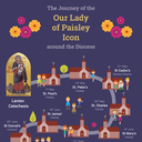 Pray with Our Lady of Paisley as she visits each parish in the diocese.